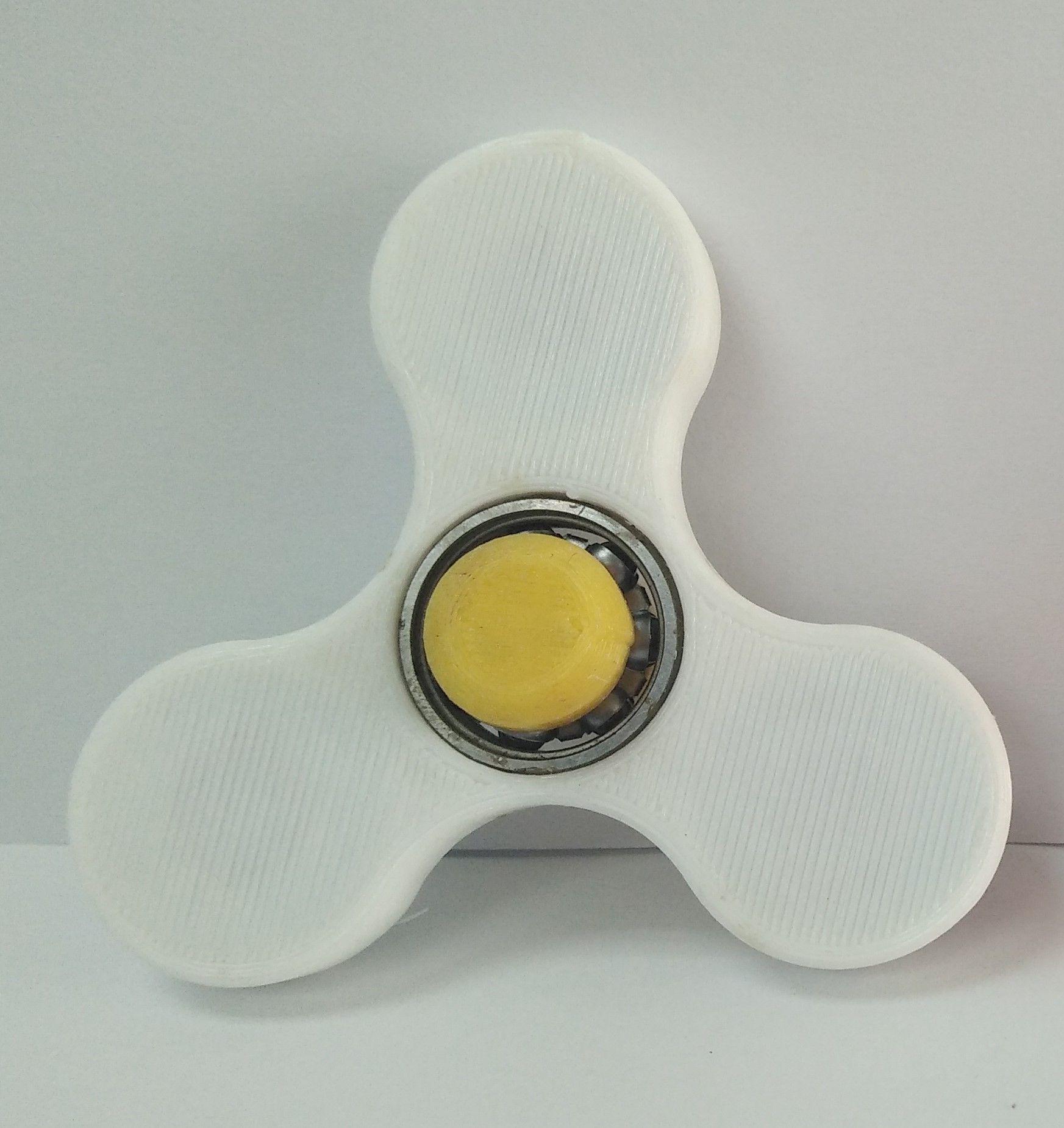 3D列印 【玩具】 指尖陀螺 (白色)
